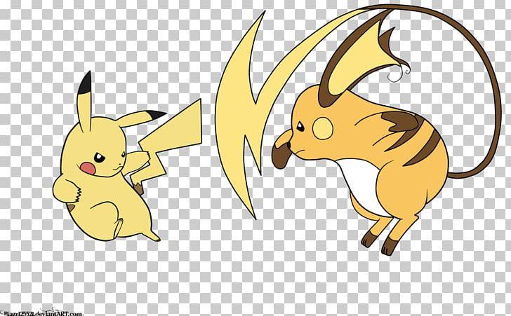 Pikachu Raichu Drawing Digital Painting Png Clipart Animal
