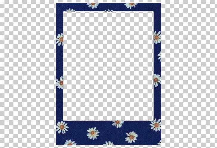 Polaroid blue. Frames instant camera corporation