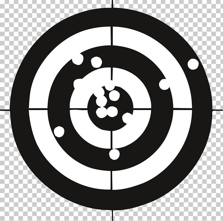 Target Practice VR Shooting Target Target Corporation Bullseye PNG, Clipart, Area, Black And White, Bullseye, Circle, Key Chains Free PNG Download