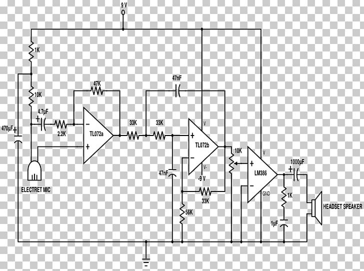 Circuit Diagram Stethoscope Electronic Circuit Schematic PNG ... on