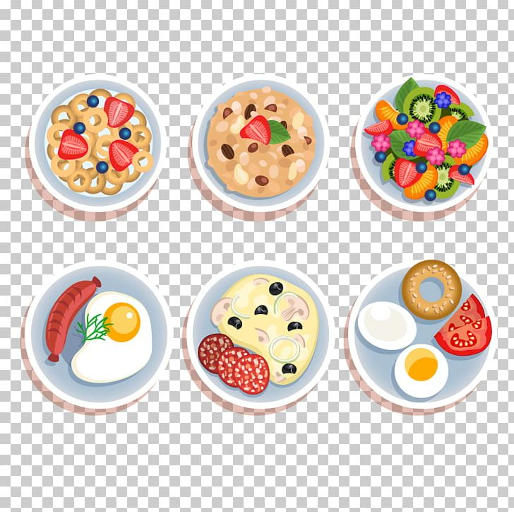 Breakfast Cereal Food Illustration PNG, Clipart, Bread, Breakfast, Breakfast Food, Breakfast Plate, Breakfast Vector Free PNG Download