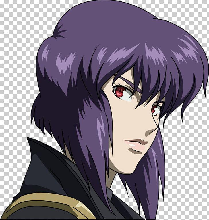 Motoko Kusanagi Togusa Batou Ghost In The Shell Png Clipart Batou Black Hair Brown Hair Eye