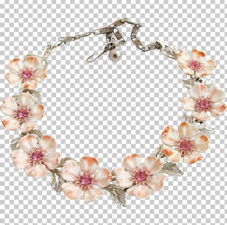 Pearl Necklace Flowering Dogwood Jewellery Choker Png Clipart Body