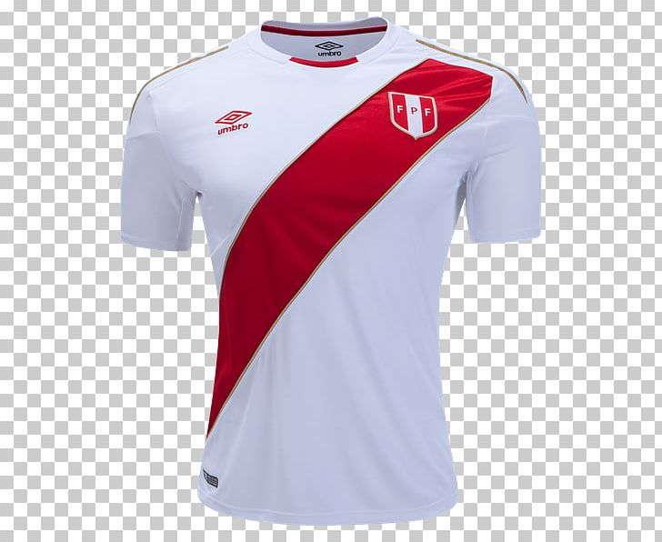 best service b345c a0e53 2018 World Cup Peru National Football Team T-shirt World Cup ...