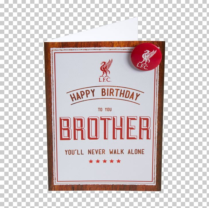 Liverpool FC Greeting Note Cards Birthday Cake Card PNG Clipart Amp Brother Free
