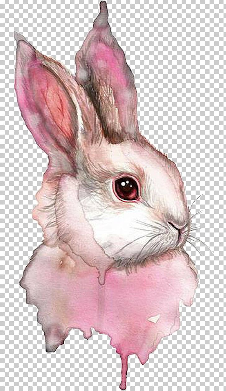 Watercolor Painting Rabbit Watercolor: Animals Drawing PNG, Clipart, 2018, Animal, Animals, Art, Cuteness Free PNG Download