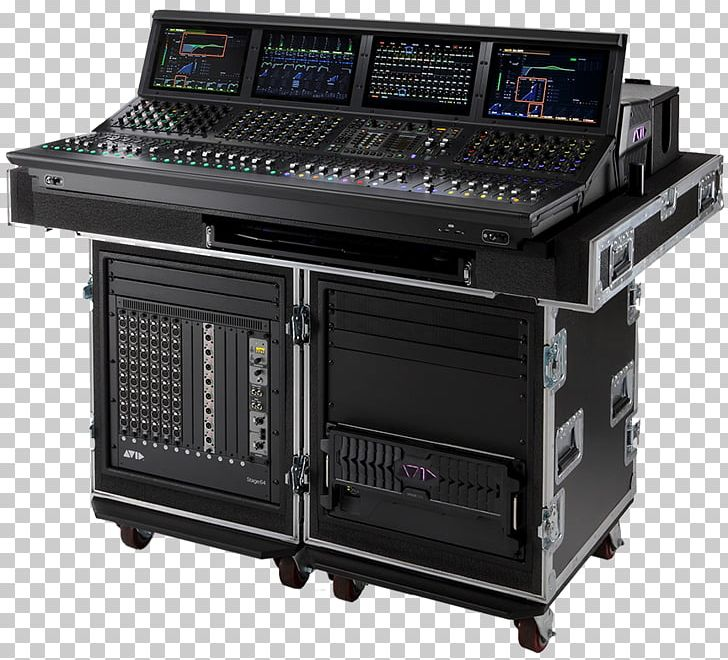 Venue Avid Live Sound Mixing Audio Mixers MADI PNG, Clipart