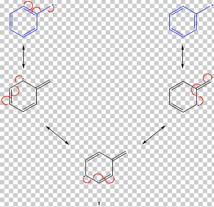 Resonance Radical Benzyl Group Lewis Structure Chemistry PNG