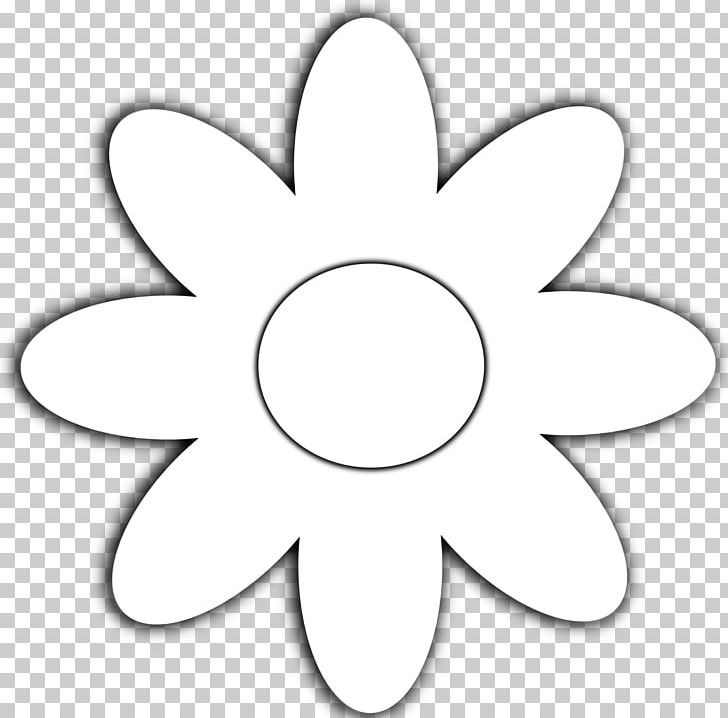 Flower Black And White Common Daisy Coloring Book PNG, Clipart, Area