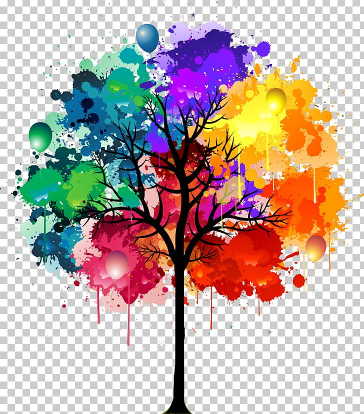 Watercolor Painting Drawing PNG, Clipart, Art, Branch, Color, Computer Wallpaper, Drawing Free PNG Download