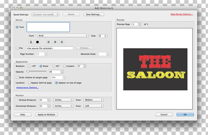 Adobe Acrobat PDF Watermark Font PNG, Clipart, Acrobat