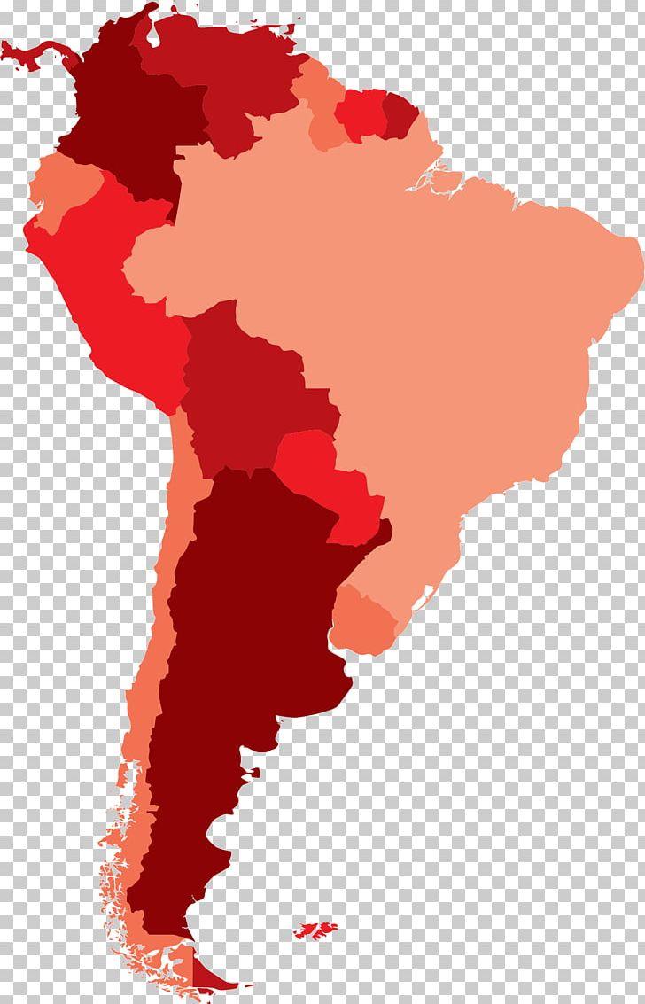 Latin America South America Mapa Polityczna World Map PNG ...