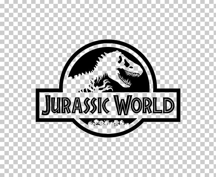 Jurassic Park Logo Velociraptor PNG, Clipart, Black, Black And White, Brand, Carnivoran, Dinosaur Free PNG Download