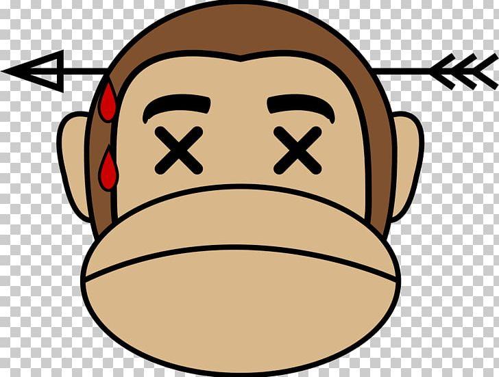 Ape Emoji Monkey PNG, Clipart, Ape, Area, Emoji, Face