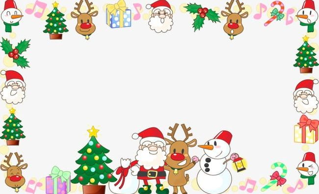 santa claus christmas decoration border frame png clipart border clipart christmas christmas clipart claus claus clipart santa claus christmas decoration border