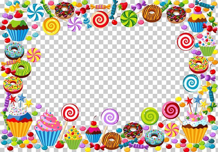 Candy Cane Bonbon Gummy Bear PNG, Clipart, Border, Border Frame, Cake, Candy, Certificate Border Free PNG Download