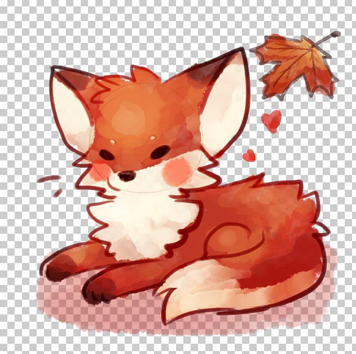 Red Fox Chibi Drawing Arctic Fox Art Png Clipart Anime