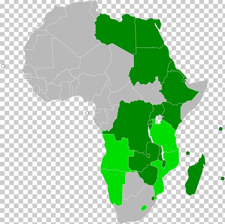 African Union Map.South Sudan Member States Of The African Union Common Market