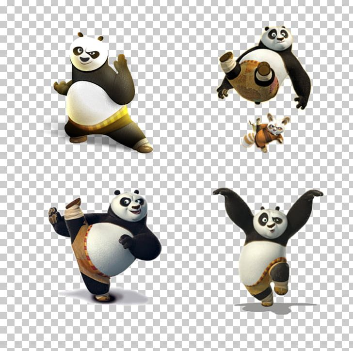 Po Giant Panda Master Shifu Kung Fu Panda Tai Lung Png Clipart Carnivoran Cartoon Cartoon Arms