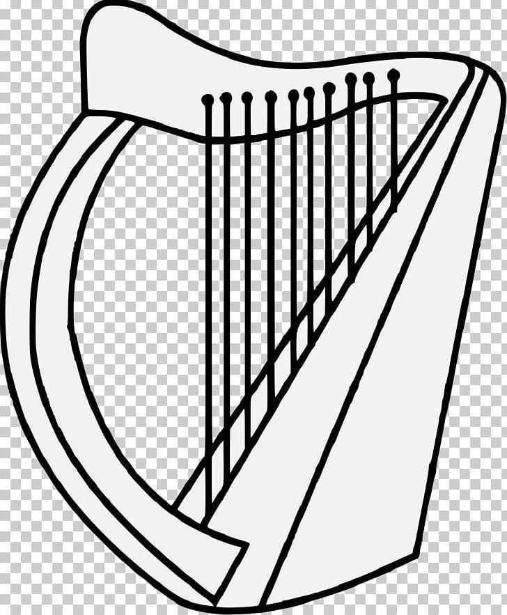 Heraldry Heraldic Symbols Harp Png Clipart Angle Area