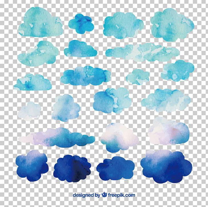 Watercolor Painting Cloud PNG, Clipart, Aqua, Art, Azure