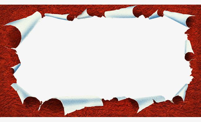 Torn paper ripped. Tear effect png clipart