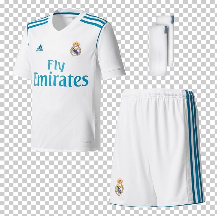 Real Madrid C.F. La Liga 2018 World Cup Kit Jersey PNG
