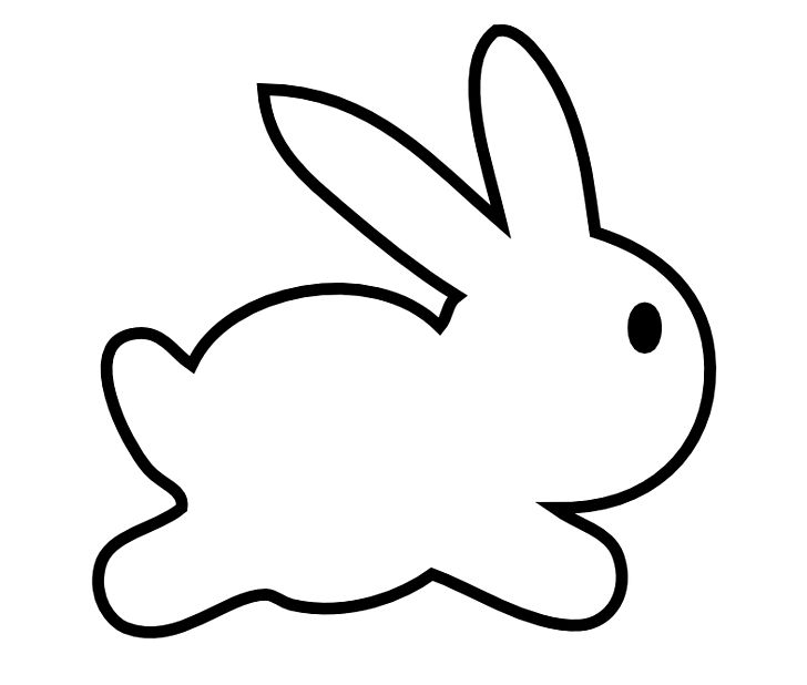 Easter Bunny Rabbit Drawing PNG, Clipart, Area, Black And White, Blog, Bunny  Rabbit, Clip Art Free