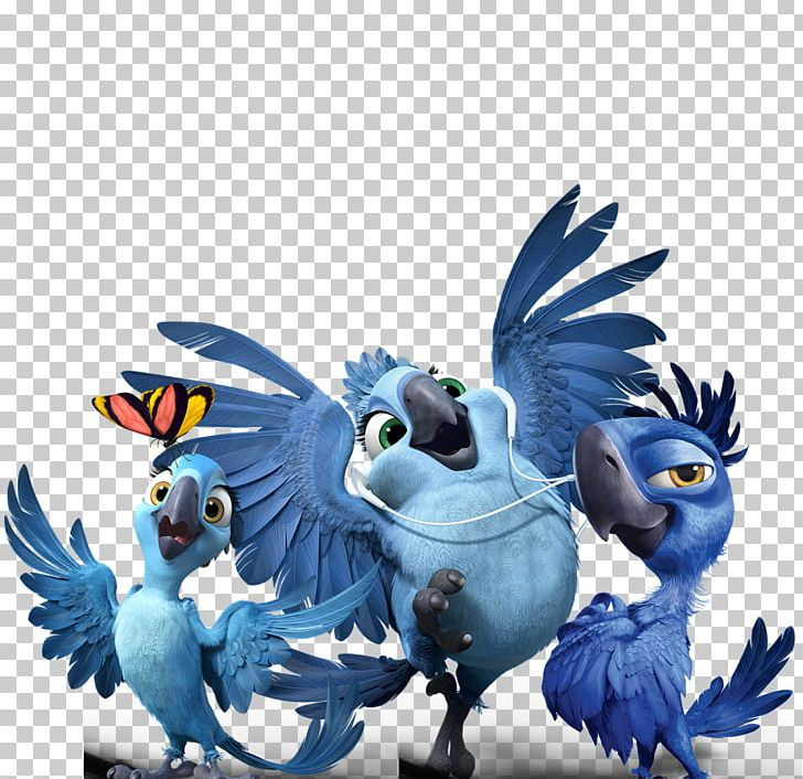 Blu Jewel YouTube Film Cinema PNG, Clipart, Beak, Bird, Blu
