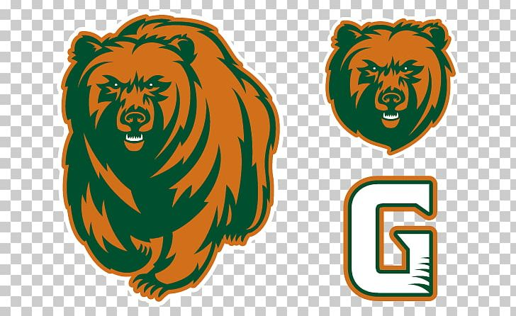 Chicago Bears Logo Grizzly Bear Georgia Gwinnett College Png