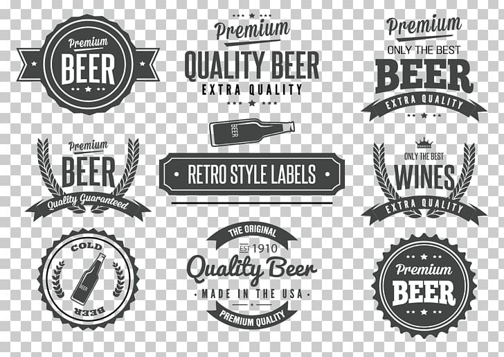 Label Vintage Logo PNG, Clipart, Advertising, Badge, Beer, Beer Glass, Beer Vector Free PNG Download