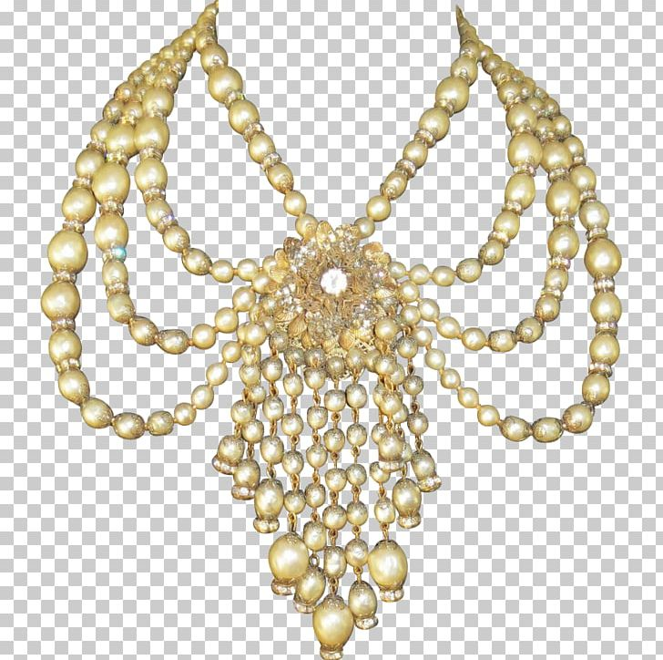 Pearl Body Jewellery Necklace Festoon PNG, Clipart, Body Jewellery, Body Jewelry, Chain, Fashion Accessory, Festoon Free PNG Download