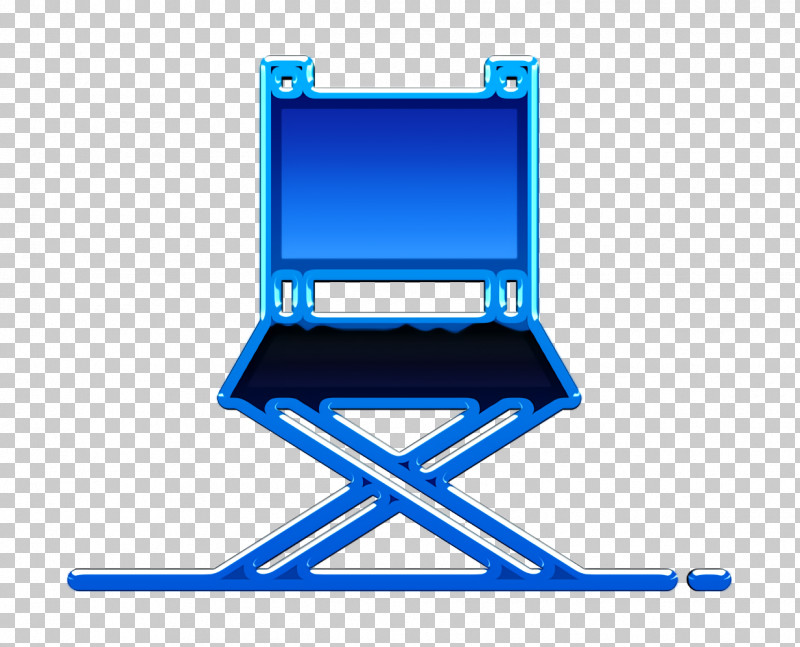 Director Chair Icon Movie  Film Icon Director Icon PNG, Clipart, Blue, Chair, Cobalt Blue, Director Chair Icon, Director Icon Free PNG Download