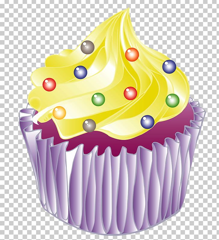 Ice Cream Cupcake Birthday Cake Muffin Buttercream PNG Clipart Baking Cup