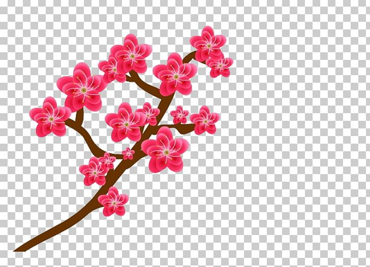 Plum Blossom Flower Png Clipart Animation Blossom Branch Brown