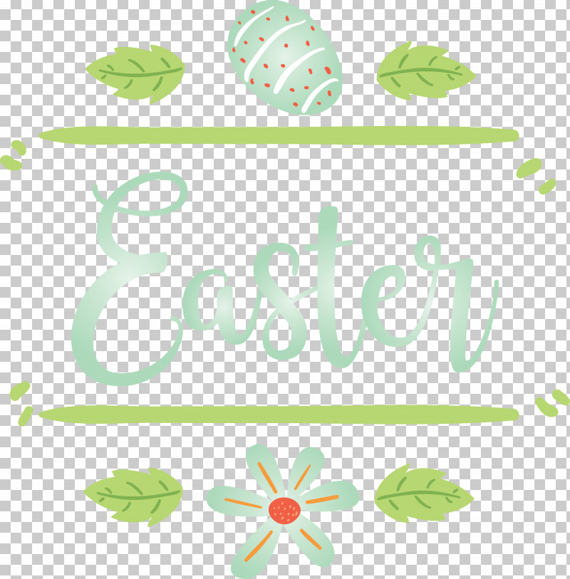 Easter Day Easter Sunday Happy Easter PNG, Clipart, Easter Day, Easter Sunday, Green, Happy Easter, Leaf Free PNG Download