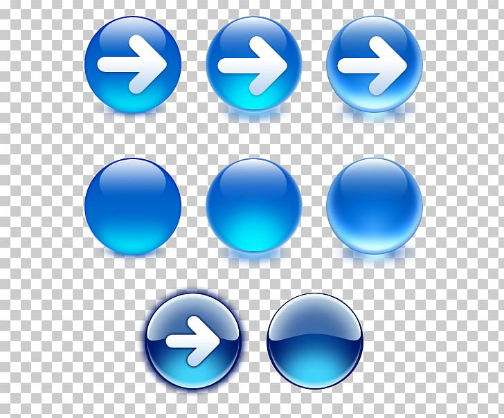 Button Arrow Computer Icons Computer Software PNG, Clipart, Arrow, Azure, Blue, Button, Buttons For The Site Free PNG Download