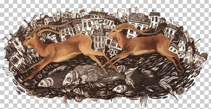Reindeer PNG, Clipart, Animals, Antler, Cartoon, Christmas Deer, Deer Free PNG Download