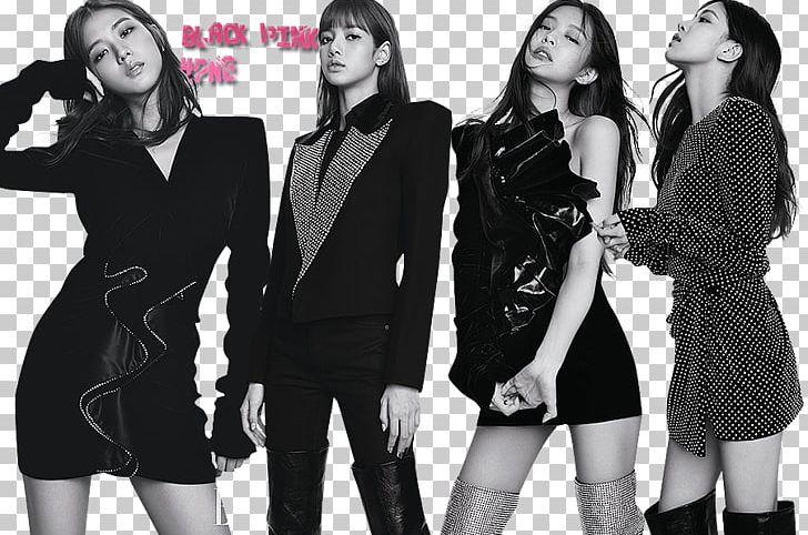 BLACKPINK Elle K-pop BOOMBAYAH PNG, Clipart, Black And White