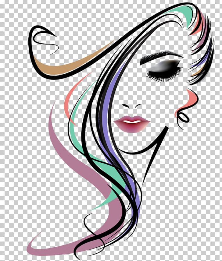 Hairstyle Beauty Parlour Woman Png Clipart Artwork Beauty Beauty Parlour Black Hair Cheek Free Png Download