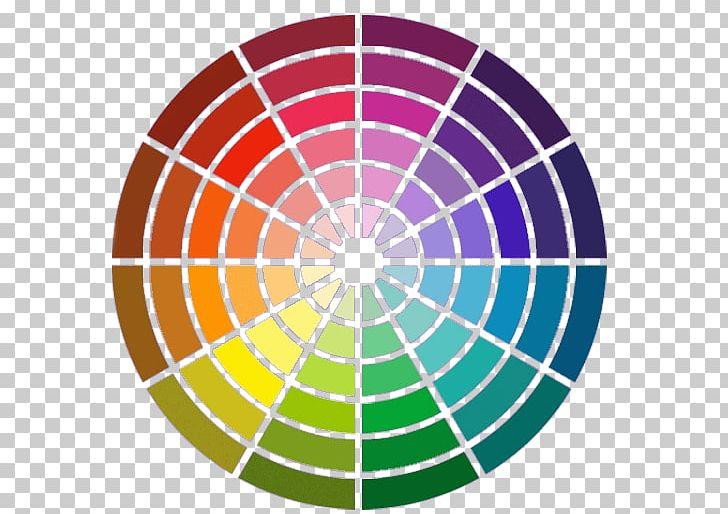 Color Wheel Complementary Colors Color Scheme Couleurs Chaudes Et ...