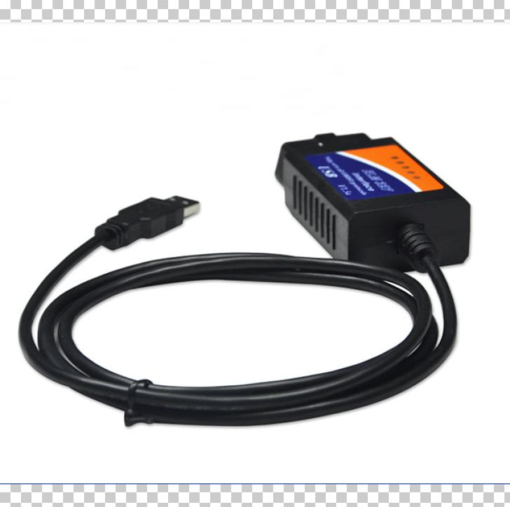 Electrical Cable Battery Charger ELM327 On-board Diagnostics OBD-II