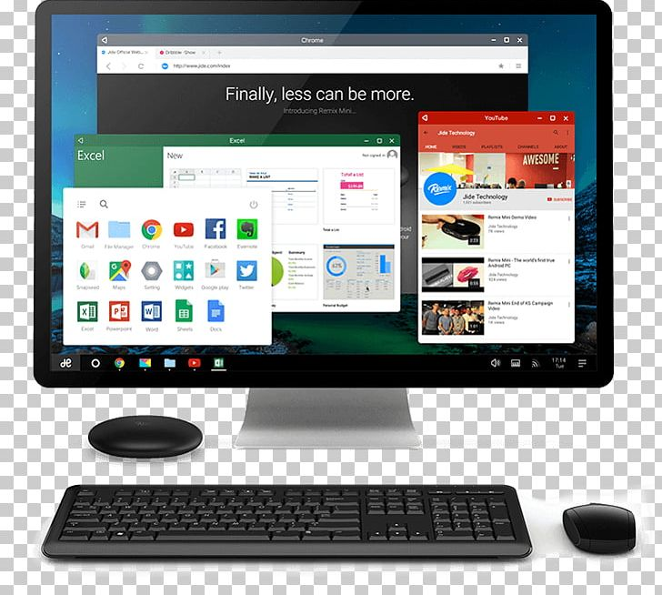 Remix OS Android-x86 Personal Computer Desktop Computers PNG