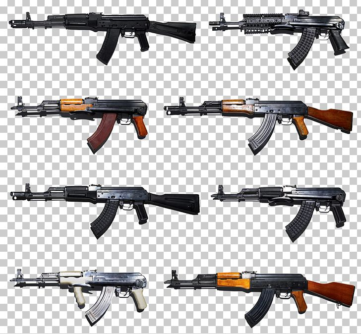 AK-47 Firearm Weapon AK-74 Rifle PNG, Clipart, Air Gun