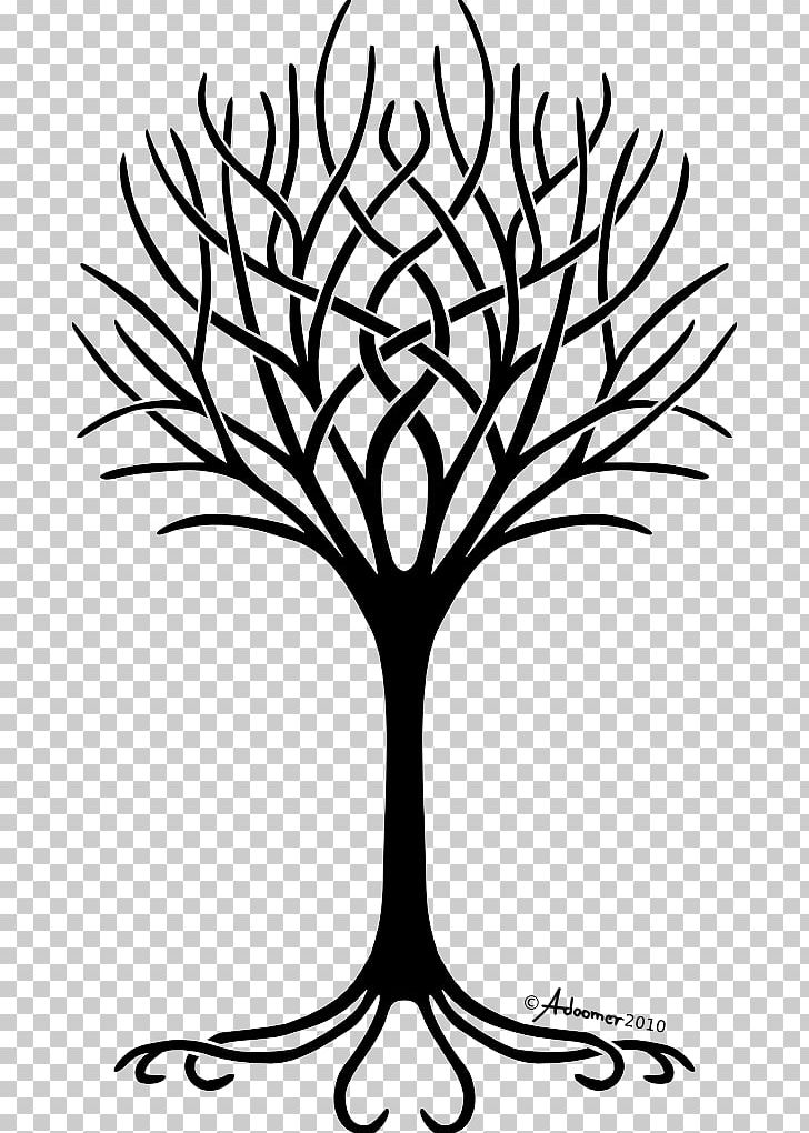 Tree Of Life Free Content Png Clipart Black And White