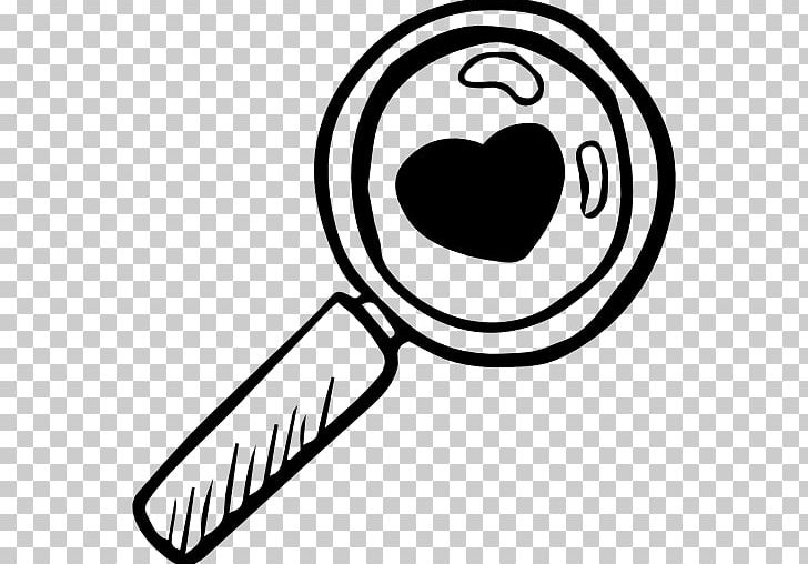 Computer Icons Magnifying Glass PNG, Clipart, Area, Artwork, Black, Black And White, Circle Free PNG Download