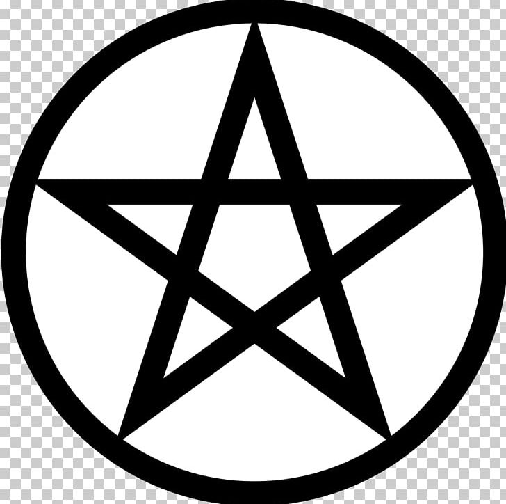 Pentagram Pentacle Wicca Symbol Satanism PNG, Clipart, Angle, Area, Black And White, Brand, Christian Cross Free PNG Download