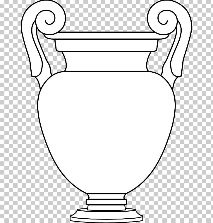 Krater Volute Line Art Vase Drawing PNG, Clipart, Angle, Area, Attic, Black And White, Circle Free PNG Download