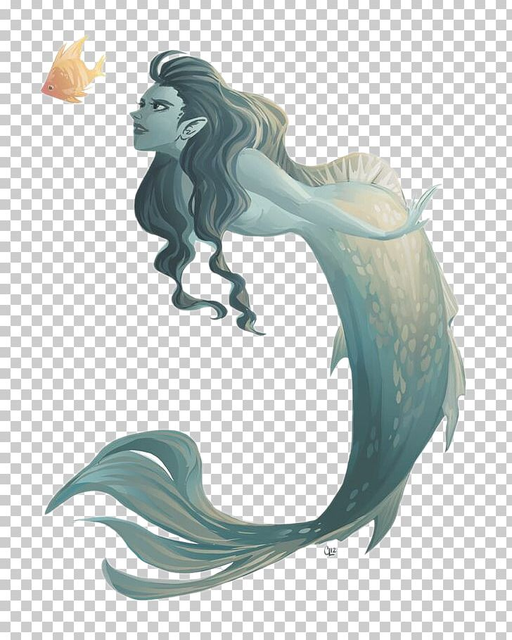 Mermaid Drawing Illustration Png Clipart Ariel Mermaid Art