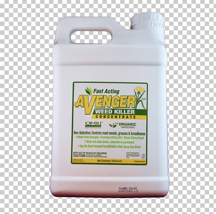 Organic Food Herbicide Avenger Organic Weed Killer Concentrate Weed Control Lawn Png Clipart Food Fungicide Garden